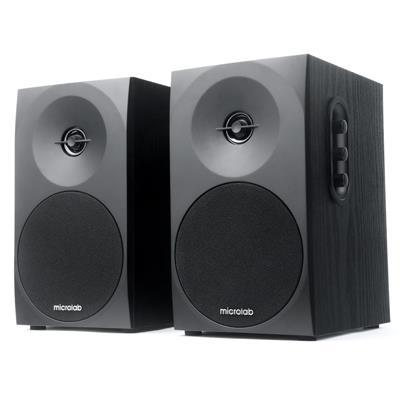Microlab B70 stereo reproduktory 2.0, RMS 20W, MDF, černé