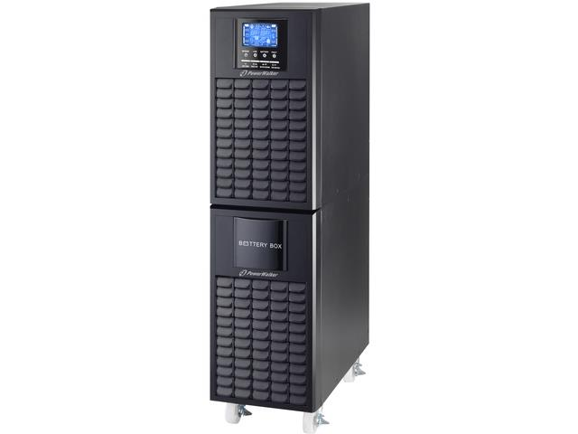 UPS On-Line Power Walker 10000VA terminal OUT, USB/RS-232, LCD, Tower CT