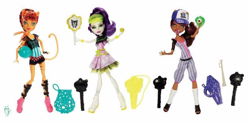 Mattel Monster High Sports monsters Bjr11 - doll