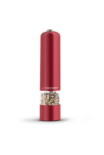 Esperanza EKP001R MALABARA mlýnek na pepř, červený