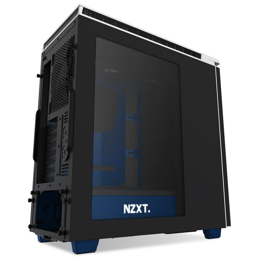 NZXT PC skříň H440 EnVyUS černo-modrá