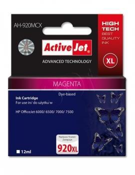 Kazeta ActiveJet AH-920MCX   Magenta   12 ml   HP HP 920XL CD973AE