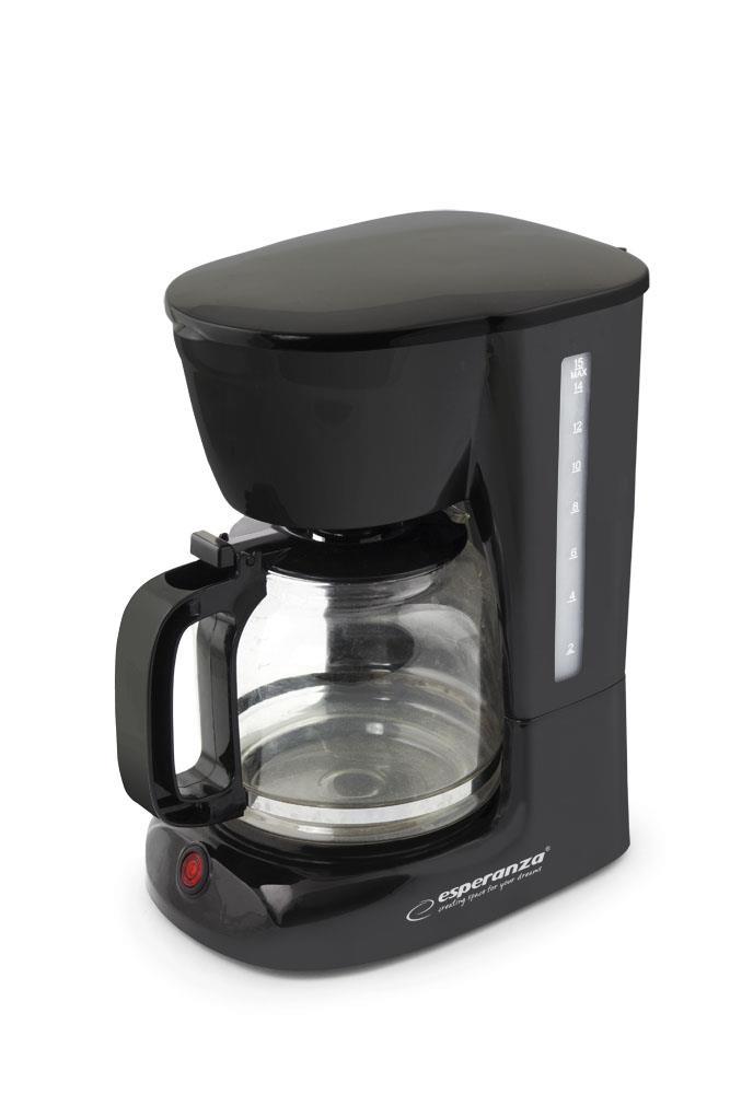 Esperanza EKC005 ARABICA Kávovar na překapávanou kávu 1.8L, černý