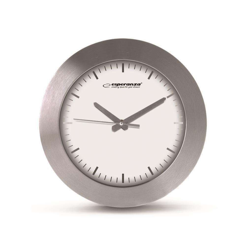Esperanza EHC011W HOUSTON nástěnné hodiny, bílé