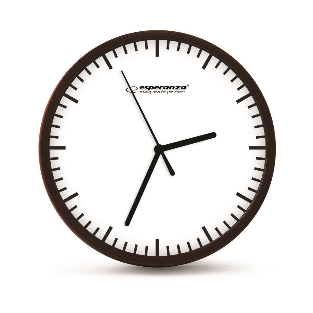 Esperanza EHC010W BUDAPEST nástěnné hodiny, bílé