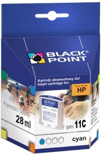 Ink Black Point BPH11C | Cyan | 28 ml | 2510 p. | HP C4836