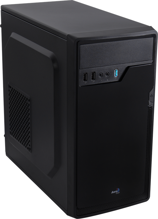 PC skříň Aerocool Micro-ATX PGS CS-100 ADVANCE BLACK, USB 3.0, bez zdroje
