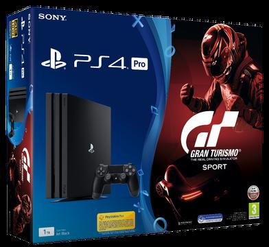 Sony Playstation 4 Pro 1TB + Gran Turismo Sport