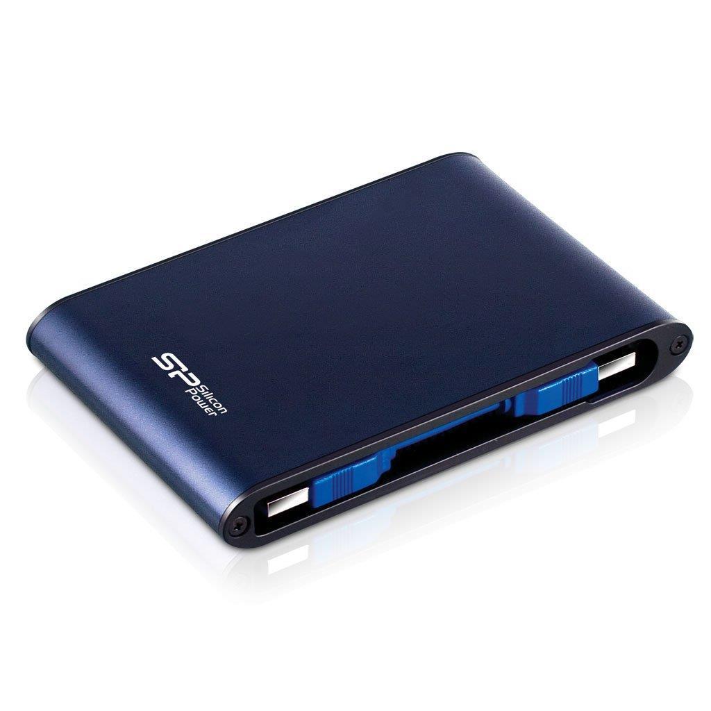 Silicon Power externí HDD Armor A80 2.5'' 500GB USB 3.0, IPX7, voděodolný, modrá