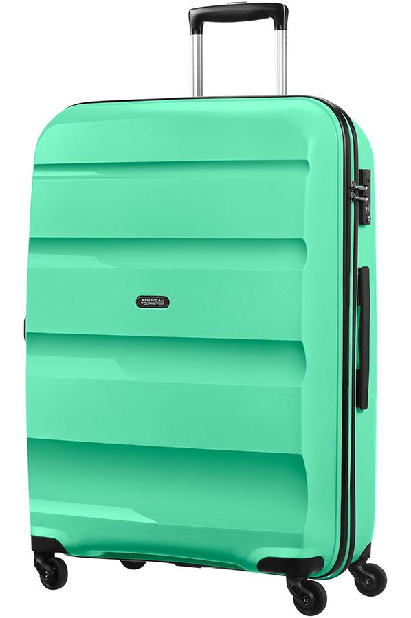 Spinner American Tourister 85A1402 BonAir M 4wheels luggage, green mint