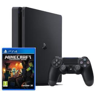 PS4 500GB Slim + Minecraft