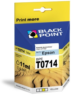 Ink Black Point BPET0714 | Yellow | chip | 13 ml | Epson T0714