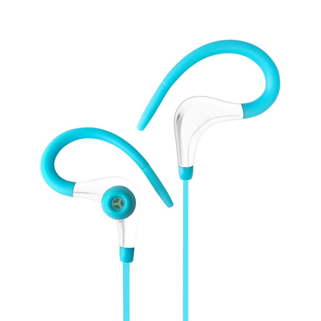 ART Bluetooth Headphones with microphone AP-BX61 turquoise sport (EARHOOK)