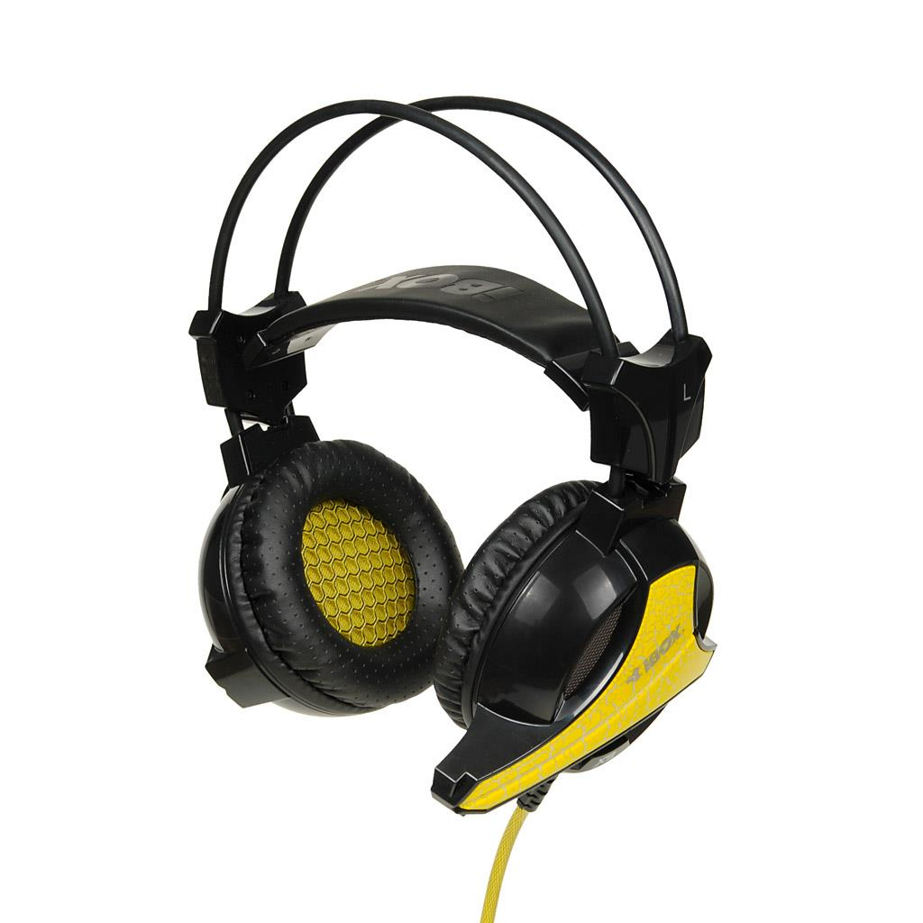 iBOX X9 LED herní sluchátka