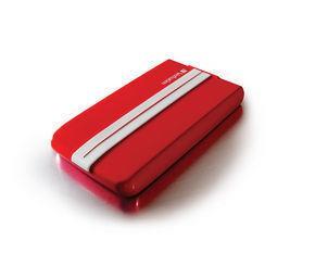 """VERBATIM HDD 2.5"""" 500GB GT SUPERSPEED USB 3.0 červená/bílá"""