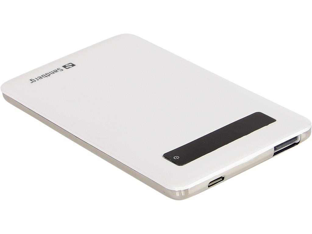 Sandberg Pocket Powerbank 5000 externí baterie