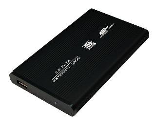LOGILINK - Rámeček pro 2.5'' SATA HDD USB 2.0 černý