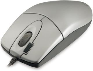 Myš A4-Tech EVO Opto Ecco 612D stříbrná, USB