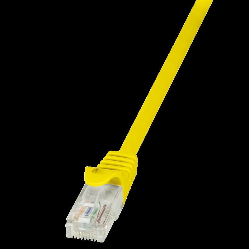 LOGILINK - Patch kabel CAT 5e UTP 2m žlutý
