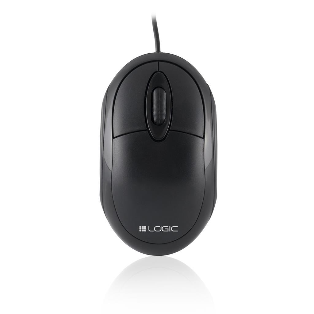 LOGIC optická myš LM-11 (černá)