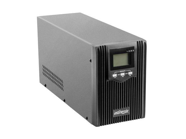 UPS Energenie by Gembird 2000VA, Pure sine, 3x IEC 230V OUT, USB-BF, LCD Display