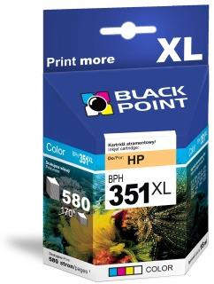 Ink Black Point BPH351XL   Color   18 ml   580 p.   HP CB338