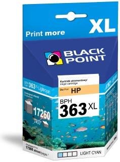 Ink Black Point BPH363LC   Light cyan   10 ml   17260 p.   HP C8774