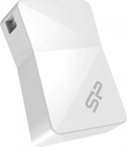 Silicon Power flash disk USB Touch T08 8GB USB 2.0 bílá