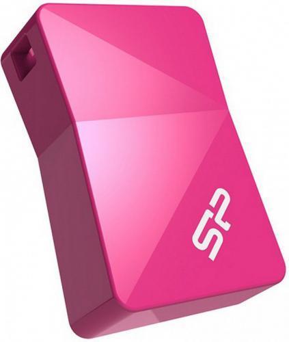 Silicon Power flash disk USB Touch T08 16GB USB 2.0 růžová