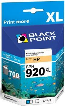 Ink Black Point BPH920XL   Cyan   12 ml   700 p.   HP CD972AE