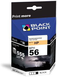 Ink Black Point BPH56   Black   19ml   555 p.   HP C6656