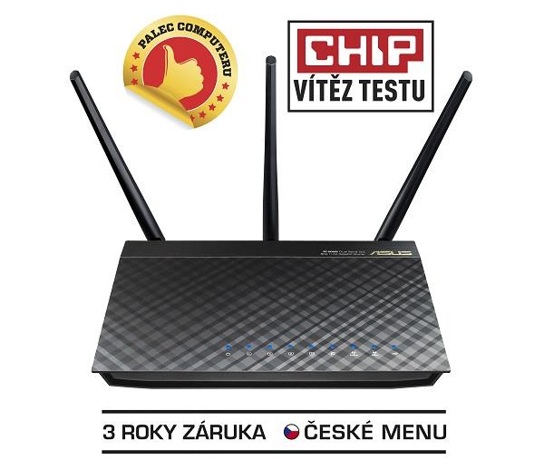 Asus RT-AC66U Dual-Band Wireless 802.11ac-AC1750 Gigabit Router, AiCloud Supp.