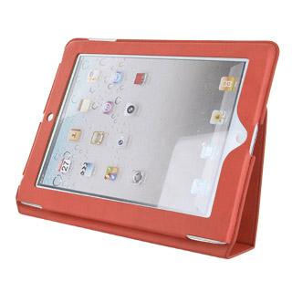 4World Pouzdro s nohou pro iPad3|9.7'', slim, červený