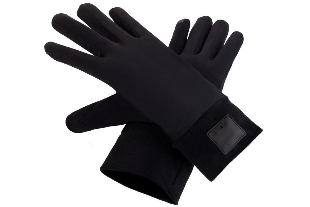 SUNEN Glovii - Bluetooth rukavice, velikost UNI, černé