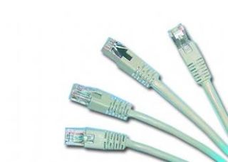 Gembird Patch kabel RJ45, cat. 5e, FTP, 20m, šedý