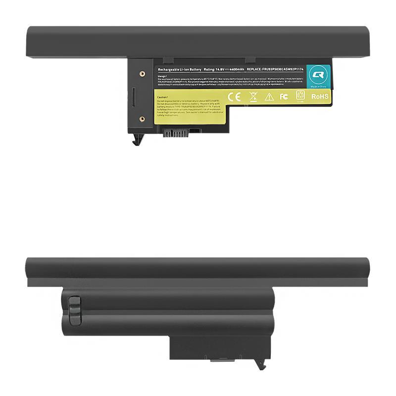 Qoltec Long Life baterie pro notebooky - Lenovo ThinkPad X60 | 4400mAh | 14.8V