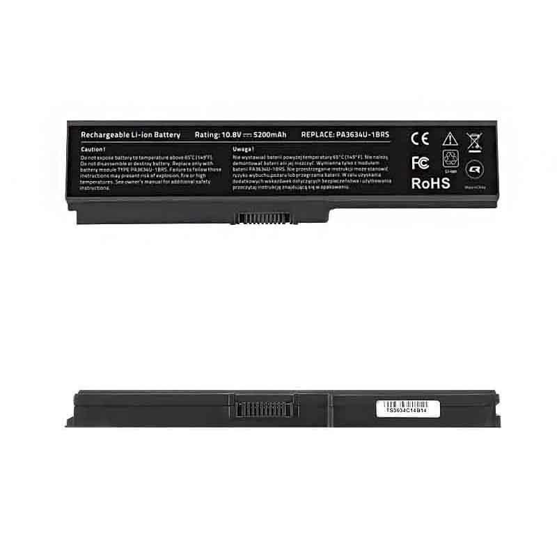 Qoltec Long Life baterie pro notebooky Toshiba PA3634, 10.8-11.1V   5200mAh
