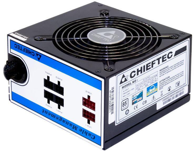 Chieftec zdroj CTG-650C, 650W, 85+, box