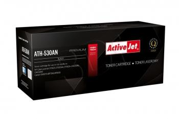Toner ActiveJet ATH-530AN   černý   3500 str.   HP CC530A (304A), Canon CRG-71