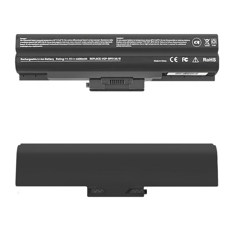 Qoltec Long Life baterie pro notebooky Sony Vaio VGP-BPS13 | 4400mAh | 11.1V
