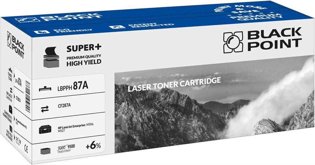 Toner Black Point LBPPH87A | Black | 9 500 pp. | HP CF287A
