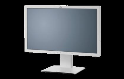 "FUJITSU MT P27T-7 UHD LED IPS, 27"" mat 3840x2160, 350cd, 7ms, 2xUSB, DP, mDP, 3xHDMI, Pivot,VESA0x10,bílý"
