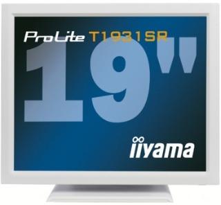 Iiyama LCD T1931SR-W1 19''LED dotykový, 5ms, VGA/DVI, repro, 1280x1024, b