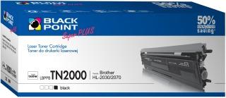 Toner Black Point LBPPBTN2000 | Black | 3000 p. | Brother TN2000