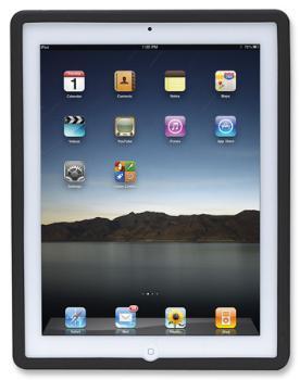Manhattan ochranné silikonové pouzdro pro iPad, černé
