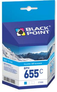 Ink cartridge Black Point BPH655C   cyan   10,5 ml   HP CZ110AE