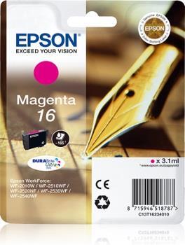 Inkoust Epson T1623 magenta DURABrite   3,1 ml   WF-2010/25x0