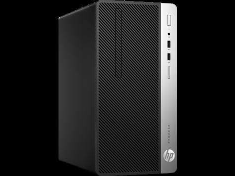 HP ProDesk 400 MT G4 i5-7500 4GB 500GB DVD Win 10 Pro 64 + mys+ klav ENG