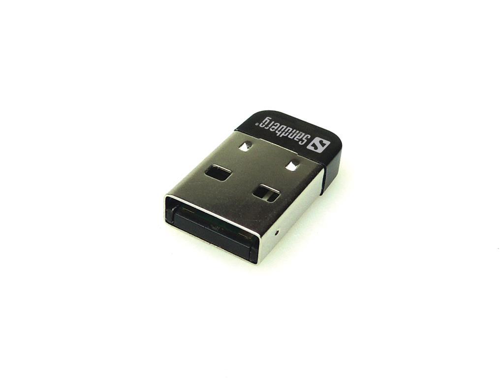 Sandberg Nano Bluetooth 4.0 Dongle, černý
