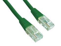 Gembird Patch kabel RJ45, cat. 5e, UTP, 2m, zelený